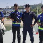 Así es como se ve cuando la unidad de drones de la policía real de Malasia entra en acción
