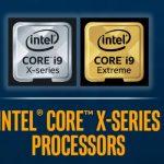 Intel confirma las nuevas CPU Core X-Series;  Desde US $ 590, disponible en noviembre