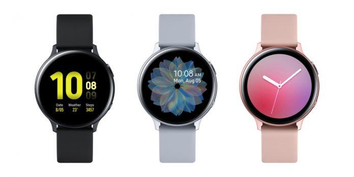 Samsung Galaxy Watch Active 2 ahora oficial;  Cuenta con control de bisel táctil y lector de ECG