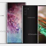 Los renderizados de imágenes del Samsung Galaxy Note 10 Pro aparecen en línea;  Pantalla deportiva más grande y sin conector para auriculares de 3,5 mm