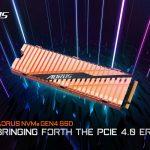 Gigabyte presenta AORUS NVMe M.2 SSD;  Hecho para la nueva interfaz PCIe 4.0