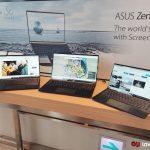 ASUS lanza nuevos portátiles ZenBook 13, 14 y 15