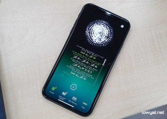 La nueva aplicación de Maxis ayuda a los usuarios con discapacidad auditiva a experimentar el Takbir