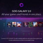 CD Projekt revisa GOG Galaxy;  Cambia el nombre de GOG Galaxy 2.0