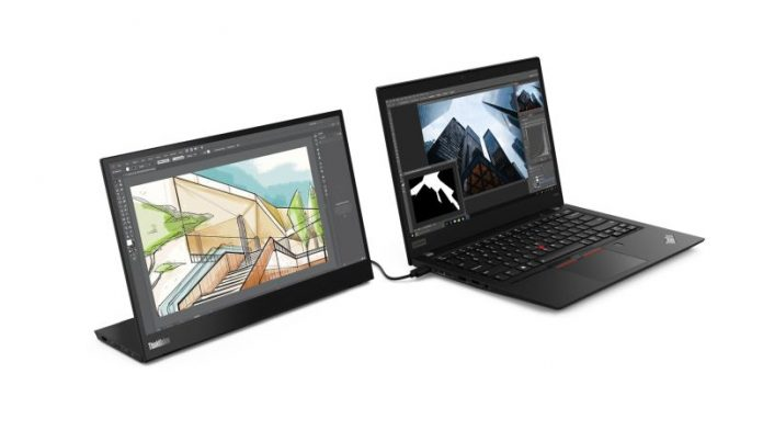 Lenovo ThinkVision M14: una pantalla portátil Full HD de 14 pulgadas