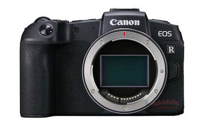 Canon EOS RP se filtra: una próxima adición a su familia de cámaras sin espejo de fotograma completo
