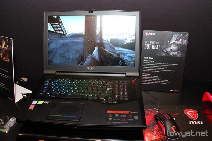MSI actualiza los portátiles para juegos de las series GT, GE, GL y GS con gráficos de la serie NVIDIA GeForce RTX