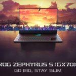 ASUS ROG Zephyrus S obtiene una versión de 17.3 pulgadas;  Armado con NVIDIA GeForce RTX 2080 Max-Q