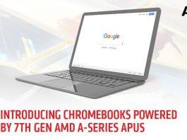 AMD ingresa al mercado de las Chromebook con procesadores de la serie A de séptima generación