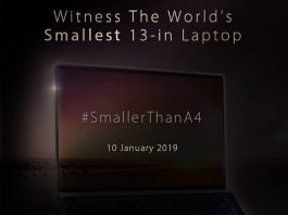 ASUS lanzará el nuevo ZenBook 13, 14 y 15 en Malasia el 10 de enero