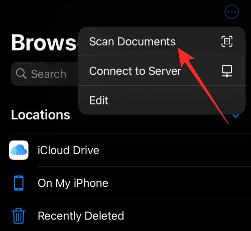 4 formas de escanear un documento en un iPhone
