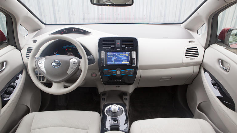 Aplicación Nissan Leaf