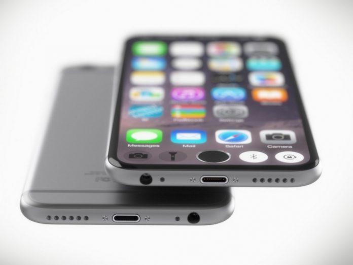 concepto de iphone-7