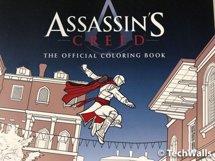 Assassin's Creed: la revisión oficial del libro para colorear