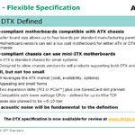 Avance del sistema de factor de forma reducido AMD DTX