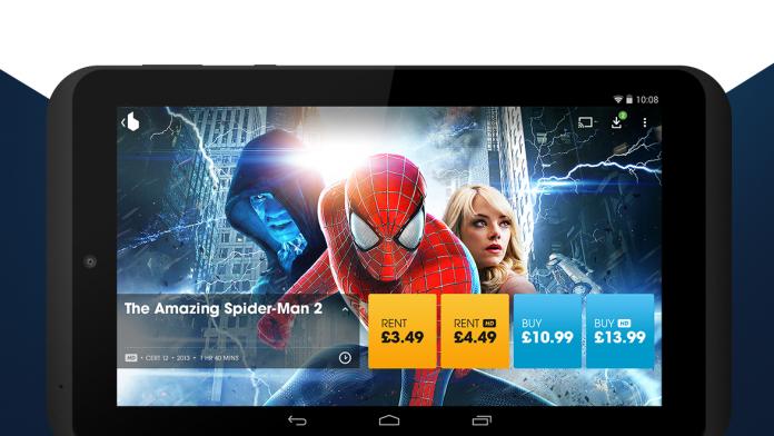 Blinkbox agrega descargas sin conexión para tabletas y iPads Android