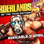 Borderlands GOTY Edition estará disponible el 3 de abril;  Colección hermosa para seguir