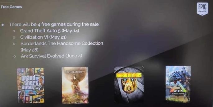 Los juegos gratuitos de Epic Games Store se filtran reddit