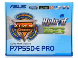 Breve análisis de la placa base Asus LGA1156 P7P55D-E Pro