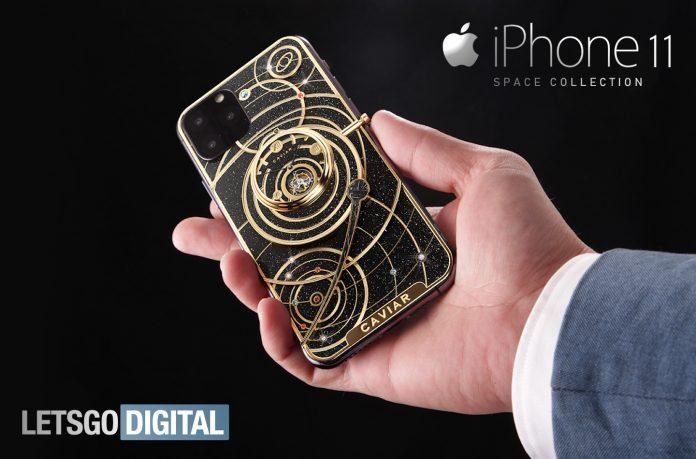 Colección Space iPhone 11: 5 smartphones de lujo de Caviar