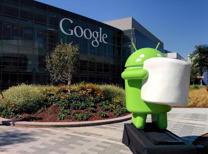 Estatua de Android Marshmallow 800x592