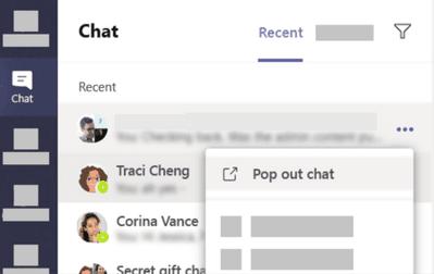Cómo abrir un chat en Microsoft Teams