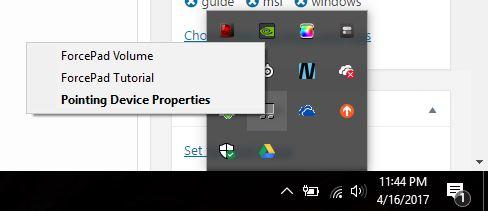 Cómo deshabilitar el panel táctil en una computadora portátil MSI automáticamente cuando se conecta un mouse externo