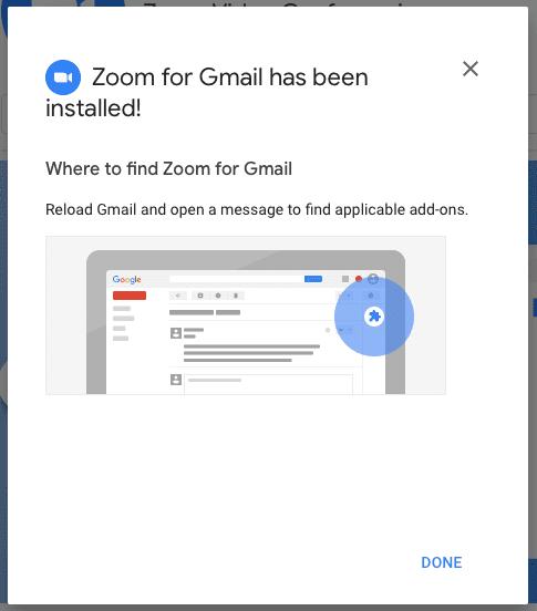 Cómo iniciar y programar una reunión de Zoom desde Gmail
