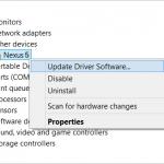 Cómo instalar los controladores USB de Nexus 5 para conectarlo con una computadora