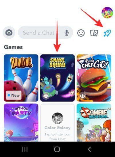Cómo jugar juegos de 2 jugadores en Snapchat