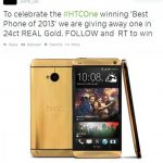 Cómo obtener un HTC One Pure Gold gratis