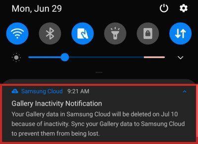 Cómo sincronizar los datos de la galería con Samsung Cloud para evitar que se eliminen