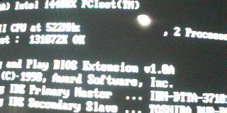 Configuración de Pentium II dual a 515 MHz!
