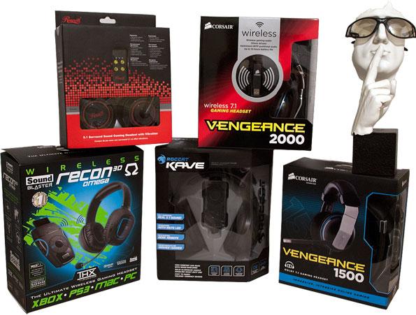 Consejo de sonido: cinco auriculares para juegos probados