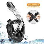 [Deal] Máscara de snorkel de cara completa Samofik