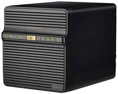 Dispositivo NAS Synology Disk Station DS409 +