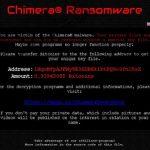 El ransomware Chimera ahora es aún más difícil de descifrar