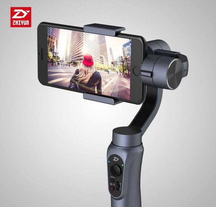 Estabilizador de cardán de mano Zhiyun Smooth-Q de 3 ejes: obtenga videos de calidad profesional desde su teléfono inteligente