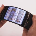 Futuro en desarrollo: un adelanto de un teléfono flexible realmente genial