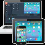 Grabación de diferentes videos de las pantallas de los dispositivos Apple con Movavi Screen Capture Studio para Mac