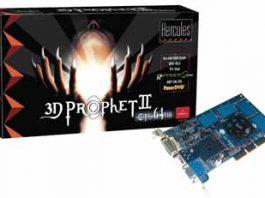 Hercules Prophet II GTS 64 MB