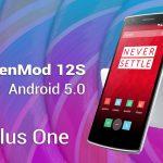Instale CyanogenMod 12S OTA ZIP en OnePlus One