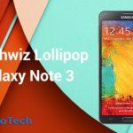 Instale el firmware N900XXUEBOA6 Lollipop en Galaxy Note 3 SM-N900