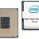 Intel anuncia los procesadores Xeon E7 v4 para la informática de misión crítica y la nube