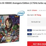 Intel tiene algunas CPUs de décima generación de Avengers Edition