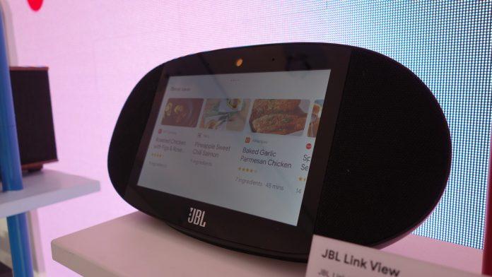 JBL Link View: el rival de Echo Show con el Asistente de Google