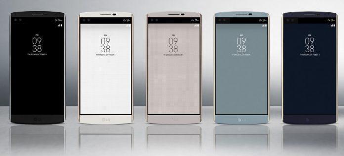 LG V10 es un teléfono interesante con pantallas duales y selfies snappers