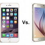 La diferencia entre iPhone 6 y Samsung Galaxy S6