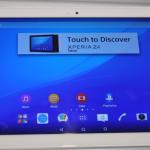 La tableta Sony Xperia Z4 presentada en el MWC 2015