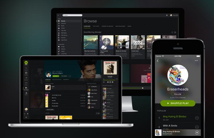 La transmisión de Spotify y Deezer ahora cuenta para las listas del Reino Unido
